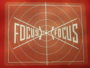 focus to the smallest part of the target