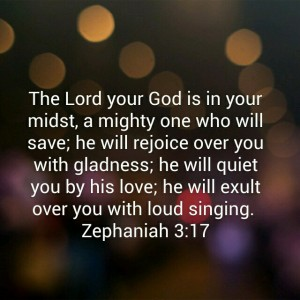 Zephaniah 3:17 Bible verse  The Lord your God is in your midst