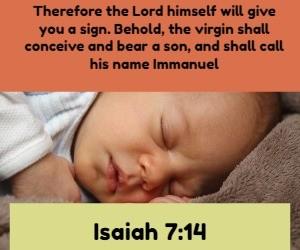 Virgin Birth Isaiah 7:14